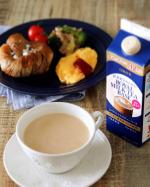 @nittohblacktea.jp 日東紅茶さまの、ロイヤルミルクティーベース💕4倍希釈で濃いめのリキッドです。朝ごはんには、たっぷりのミルクで割って、ホットで。おやつパ…のInstagram画像