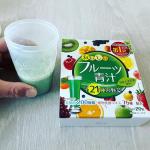 ユーワさんから出でいる美味しいフルーツ青汁を飲んでみました。とても飲みやすく乳酸菌も豊富に含まれているので風邪予防にもいいと思います。是非飲んでみて!!#yuwa #ユーワ #酵素 #…のInstagram画像