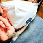 アロママスク2回目のモニター報告です🍀今度は子供にも感想を聞くために試してもらいました☺️まだ少し大きめですが、香りがするのは気に入ってもらえました✨私はこのマスクの生地も好きです❤️こんなマスク増え…のInstagram画像
