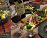 「【おうちごはん】星降る里の霜降る和牛③~ジョージアワインと楽しむ鳥取和牛ステーキ。」の画像(8枚目)