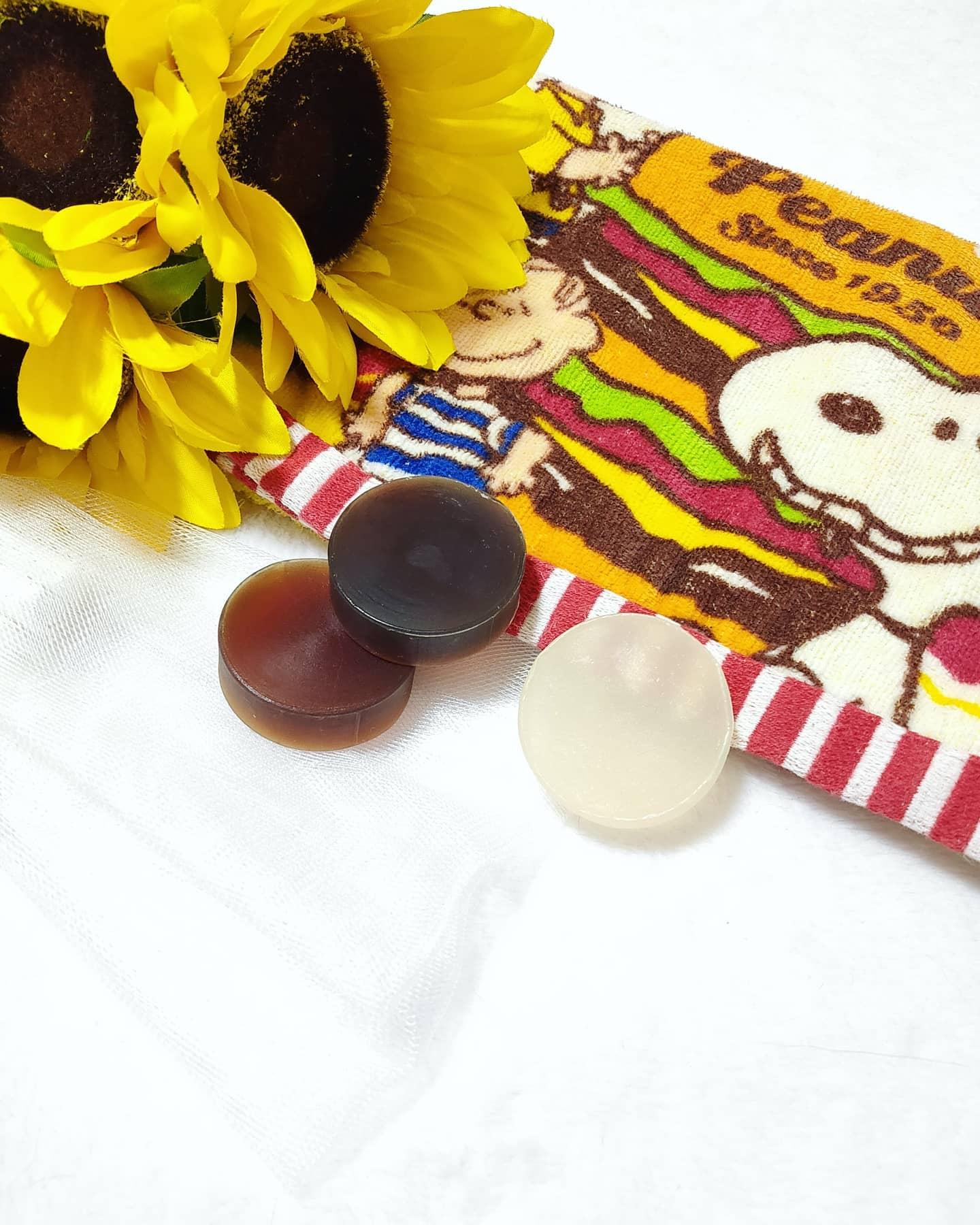 口コミ投稿:@neo_natural さんの食べられるほど優しい池田さんの石けん♪25g3種セットを愛用中で…