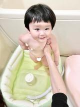 「新生児から使える優しい入浴剤アトピタ生後11ヶ月のお風呂事情」の画像(5枚目)