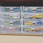 トミカの収納はレターケースを使用! 立体駐車場という名のseriaのレターケースです。 お気に入りトミカをすぐ取り出せるように、「トーマストミカ」「緊急車両」「乗用車」「ディズニートミ…のInstagram画像