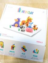 口コミ記事「【新触感&固まる粘土】ドリームブロッサムのHEYCLAYで遊んでみた♪」の画像
