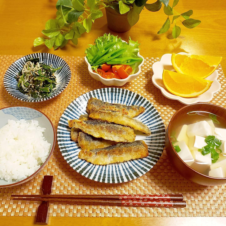 口コミ投稿:🍚🥢😋おうちごはん記録①#真鰯ソテー  #豆腐のお吸い物②#アボトロ丼  #ブロッコリーと薩…
