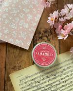 NAMASHIA━︎・━︎・━︎・━︎・━︎・━︎・━︎・ 春ネイルが💅さらに映えそう‼️『オールマイティー保湿バームナマシア生シアバター』缶の色がチェリーブラッサム色で可愛い…のInstagram画像