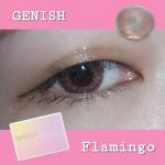 - GENISH ジェニッシュ 09Flamingo -DIA 14.5mm/BC 8.6GENISHは度なし1monthカラコン。低含水レンズで、目が乾きにくいタイプ。ナチュラル…のInstagram画像