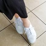 """・【""""レザースニーカーBM""""を履いて歩くだけ🚶♀️❗夏に向けてボディラインを整えちゃおう✨】Attenirアテニア(@attenir_official)と靴の老舗リーガルがタッグ…のInstagram画像"""