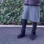 ❤️🧡💛極厚裏起毛スカート付レギンス💛🧡❤️..@nissen_ladies_official .なぜが画質が悪くなる😫..サイズが少しおっきかったのか?レギン…のInstagram画像