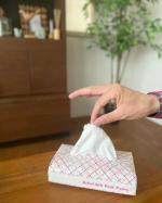 Askul soft pack Tissue━︎・━︎・━︎・━︎・━︎・━︎・━︎・毎日使うティッシュはなるべくエコのものを使う様にしています。『Askul so…のInstagram画像