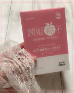 URUHIME MOMOKO 潤姫桃子お肌に良いこと🤍身体の中から綺麗に!これが大切ですねー💕今回お試しさせていただきますのはSTEPWORLD様の潤姫桃子 飲むセラミ…のInstagram画像