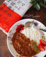 こんにちは【LOHACO限定】レンジでぱぱっと野菜と鶏肉のカレー辛口をランチで食べましたーーー🍛鶏肉の旨味をベースに20種類以上のスパイスをブレンドしたカレー粉を使用し…のInstagram画像