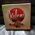 ★Kulami★FoxMind社の脳トレボードゲーム対象年齢:10才からプレイ数:2人セット内容・木製タイル 17枚・ペーパーリング 2個・赤のビー玉 28個・…のInstagram画像