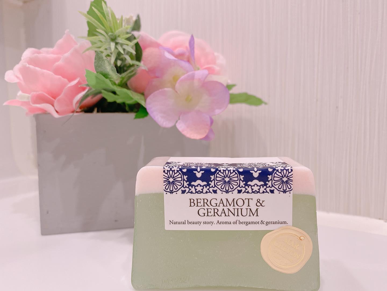 口コミ投稿:ペリカン石鹸様のMARCHVON(マルシェボン)-石鹸屋さんの自家製石鹸-「ベルガモット…