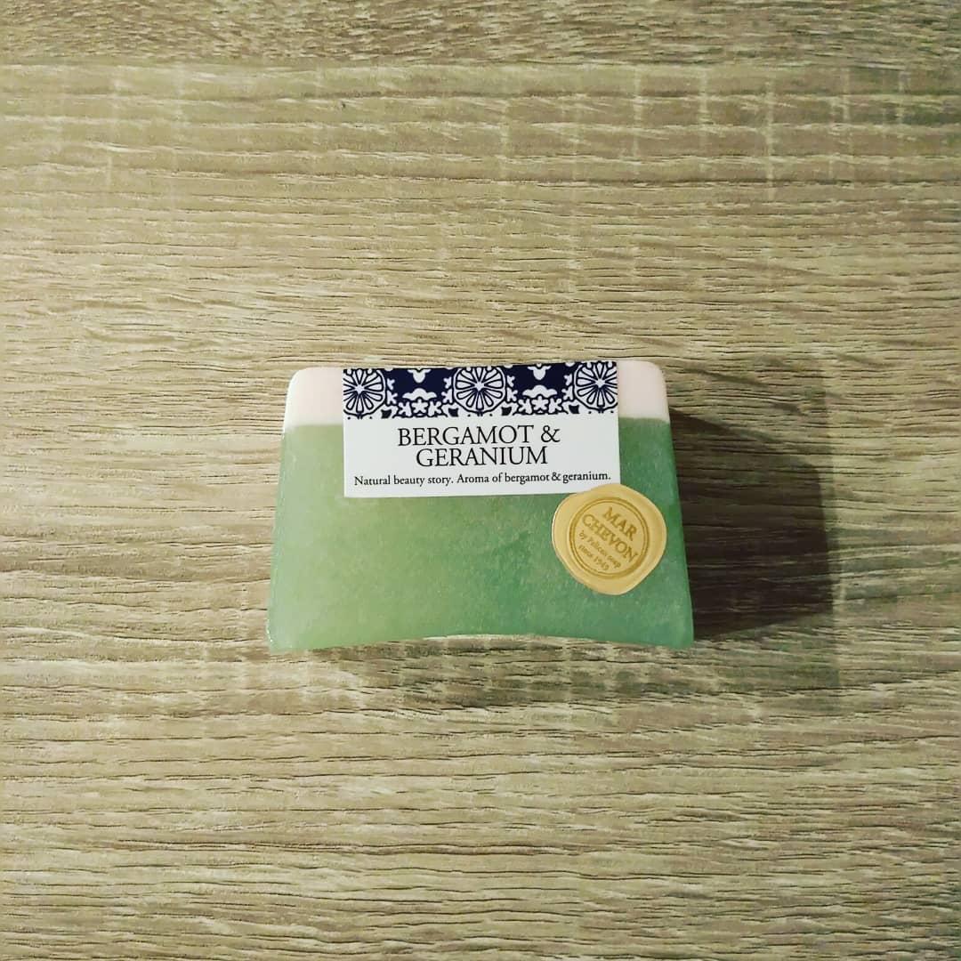 口コミ投稿:マルシェボン ベルガモット&ゼラニウム製造から包装まで手作りのハンドメイドソープ…