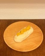 ・#おやつ に#おいもパン 🍠#大人 も#こども も#大好き#さつまいも#ペースト になっていて#使いやすい です・#パン は#お気に入り の#米粉のロール…のInstagram画像