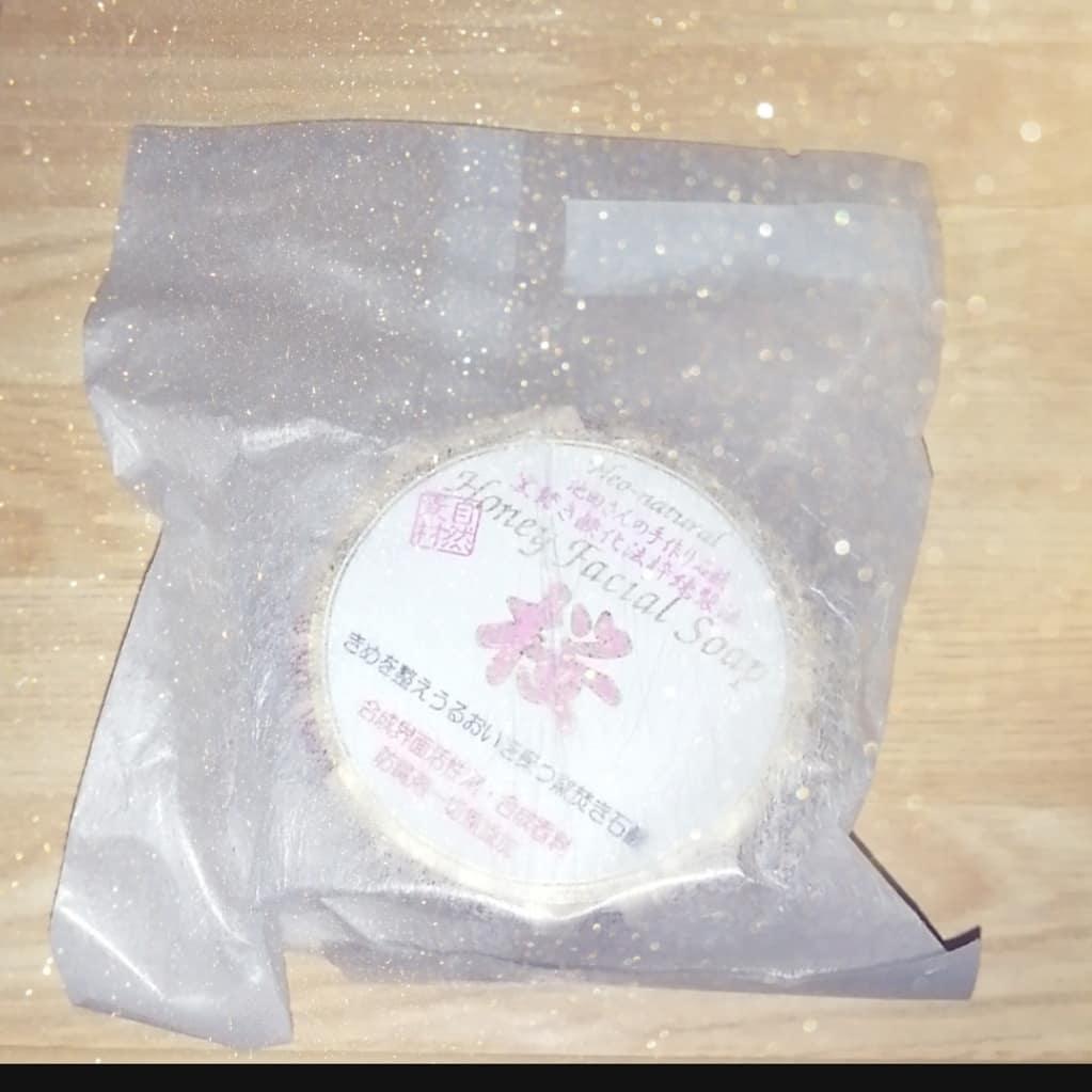 口コミ投稿:池田さんの石けんハニーフェイシャルソープ桜をお試ししてみました♡合成界面活性剤・…