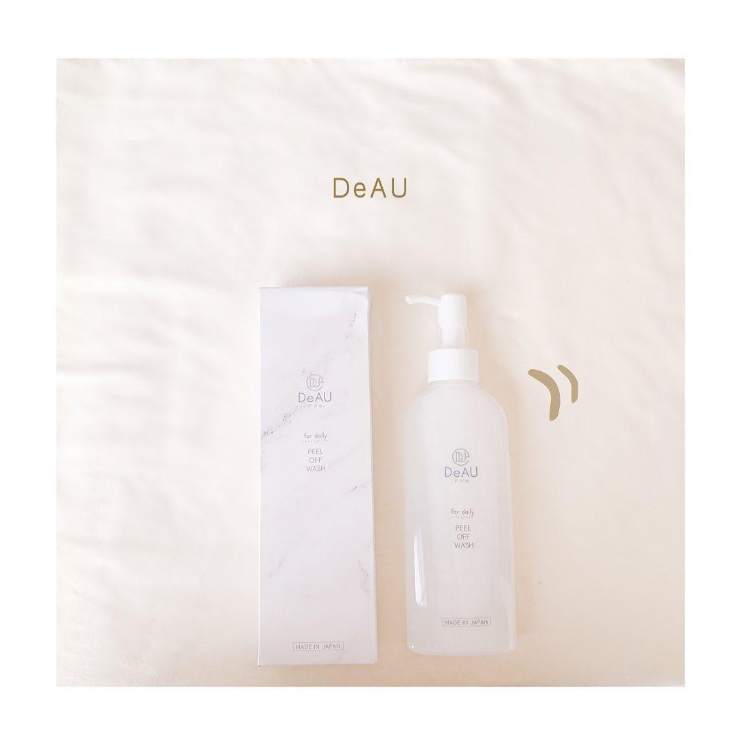 口コミ投稿:༝ ༝ ༝ ✧ ▹  DeAU ピールオフウォッシュ 肌にやさしい マイルド液体洗顔 ˎˊ˗_…