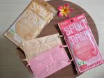 .【SPUN MASK】ISDG 医食同源ドットコムさんのスパンレース不織布カラーマスク 7枚入を使ってみました😊布マスクは可愛いデザインもあるし、今なら不織布+布マスクが効果があると…のInstagram画像