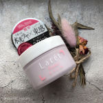 **𝓃ℯ𝓌𓆸 ⡱・#モニター・ラーレ オーガニックバームフレッシュローズの香り30g・とろけるバームで、水光ツヤのニュアンス髪・✔️6種のボタニカル…のInstagram画像