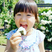 「おにぎりいただきます♪」▶ごはん彩々「お米を食べている笑顔写真」募集!/第2弾の投稿画像