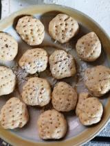 「ローズヒップ入りしょうが湯で、簡単パンを作ってみました~☆」の画像(3枚目)
