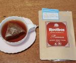 オーガニックのルイボスティー🙆🍵最高級の茶葉を使用していて、それが味にも感じられました。しっかりしたルイボスティー!っていう感じ。風味や良い意味での濃さがあります。ホッと落ち着けました😊…のInstagram画像