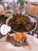 今日の料理★ 氷温熟成牛【ネギレモン塩牛タン】の画像(2枚目)