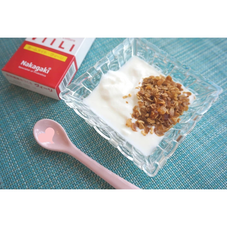 口コミ投稿:毎朝のヨーグルト週間🌄伸びるケフィアヨーグルトは、牛乳に粉末を入れて1日放置で簡…