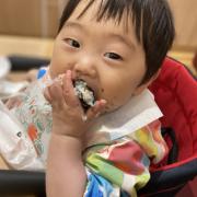 「おにぎり」▶ごはん彩々「お米を食べている笑顔写真」募集!/第2弾の投稿画像