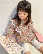 @minnano_onamae_seal samaのおなまえシール✰*りなが自分で選んで写真入りシールを保育園で毎日使うお箸箱に貼っていたよー♩スプーン・フォー…のInstagram画像