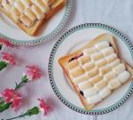 マシュマロトーストの朝ごはん☕😃🌄マシュマロがサクっふわ~とろ~でおいしかった😋🍴💕#マシュマロトースト#牛っモーニング #エイワのマシュマロ#smack8pro #おうち…のInstagram画像