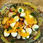 今朝の朝食🥣#kitoisix #oisix #オイシックス#ピクシータンジェリンのサラダ#母の日 #野菜をMOTTO #野菜をもっと #スープ #レンジ #カップスープ #モンマ…のInstagram画像
