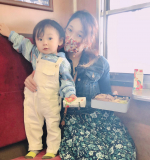 I got on steam locomotive for the first time with my son🛤(^-^)I made a lunch box🍱🥤He went out fa…のInstagram画像
