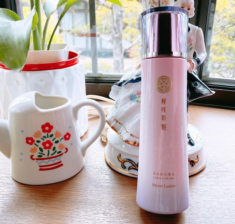 口コミ投稿:桜咲耶姫(モイストローション)ほんのとした桜の香りがする桜咲耶姫 を使用していま…