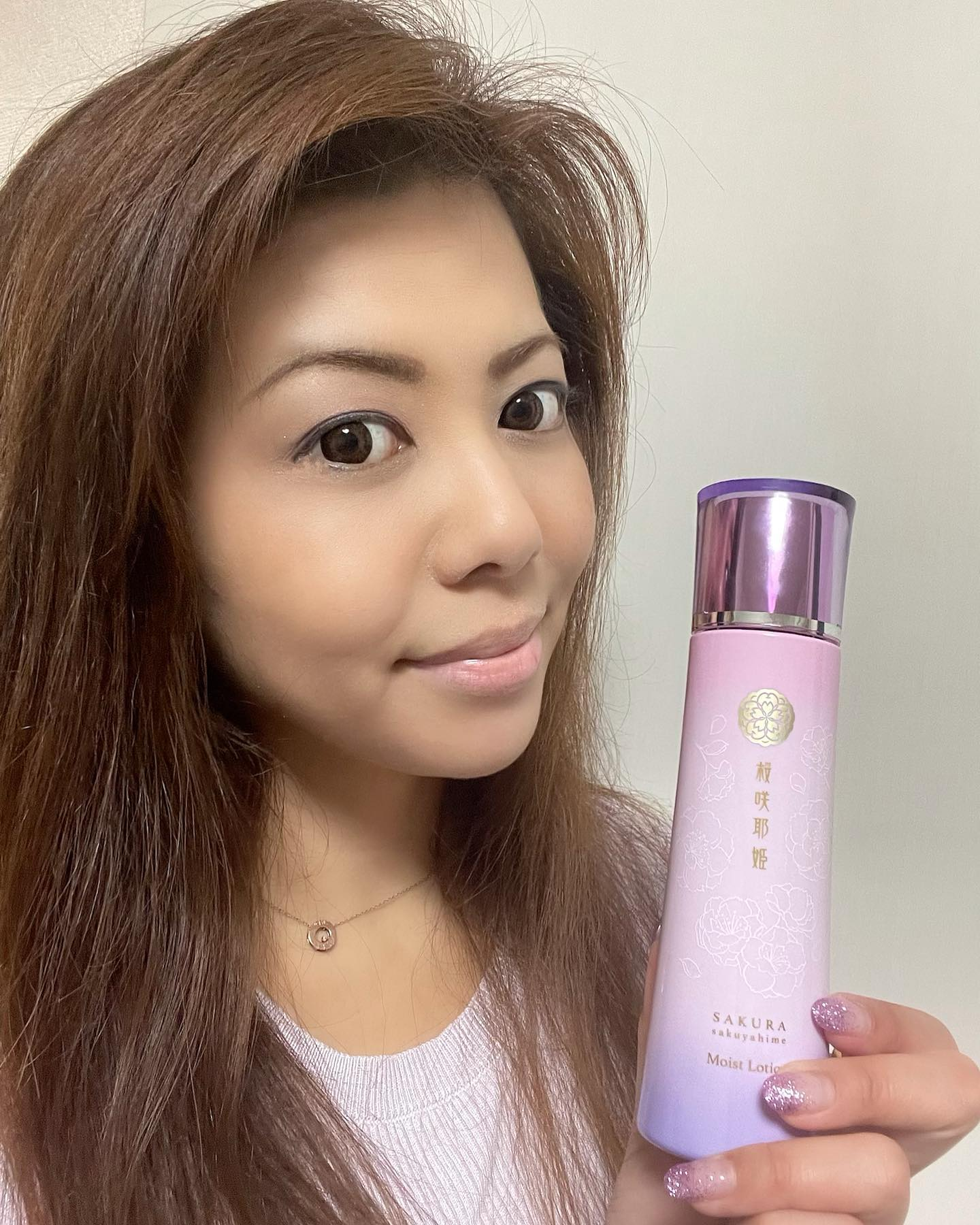口コミ投稿:⭐️@sakurasakuyahime 様の桜咲耶姫 モイストローション(化粧水)を使ってみまし…