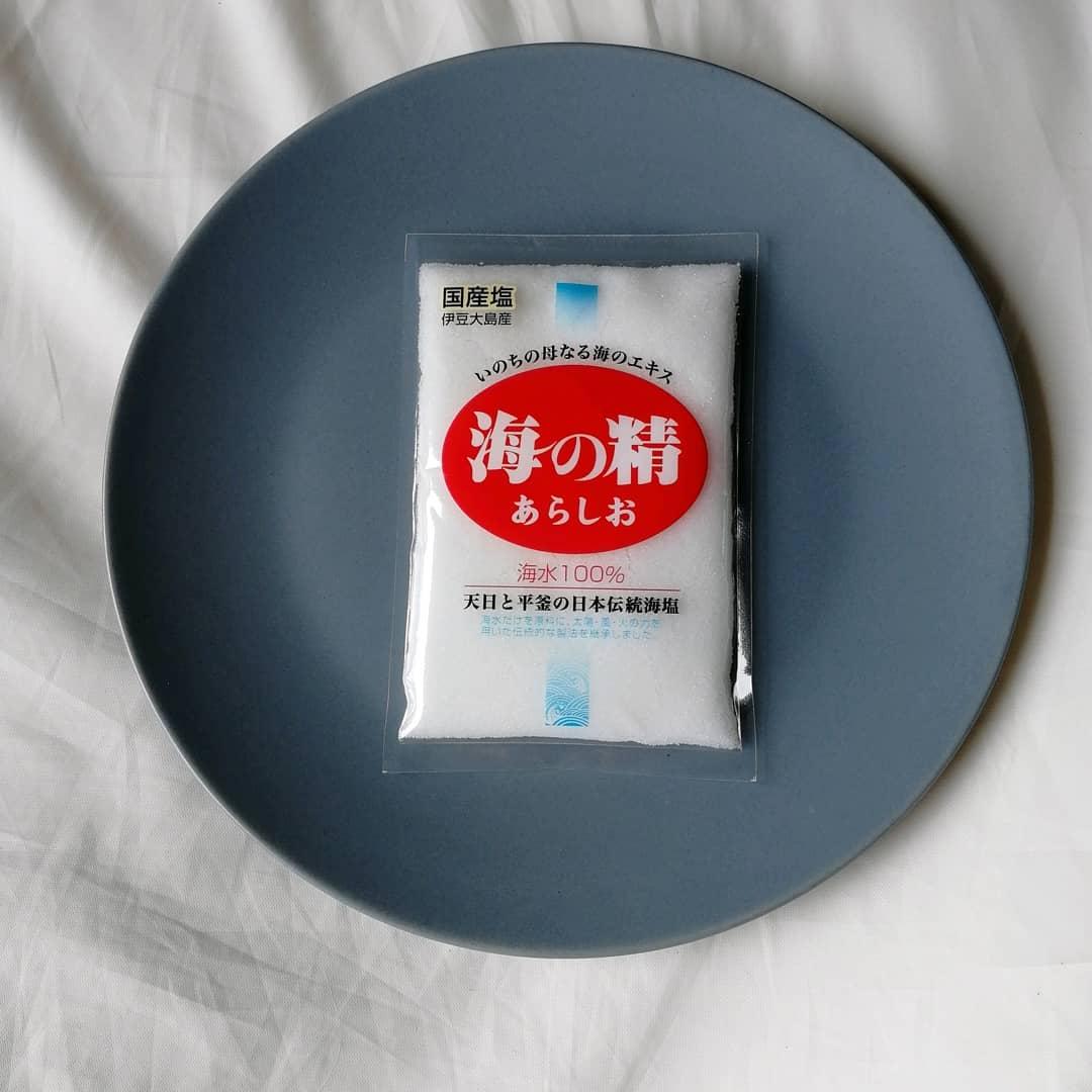 口コミ投稿:海の精ショップさんの🌊海の精 あらしお🌊伊豆大島産の素材の旨みを引き出す伝統的な…