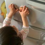.GW、おばあちゃん家に無事渡せました🧡!なかなか会えないから毎日見る冷蔵庫にペタッと貼ってきました👧#みんなのバッジ #缶バッジ #缶バッジ作り #マグネット #DIY #オ…のInstagram画像