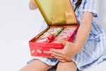 2021.5.8(sat) glico 𓇨 ⸝⸝食べ終わったあとのビスコ坊やのカンカンは可愛いから宝物入れに◎←カンカンて言うよね??…のInstagram画像