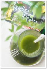 「高級な抹茶を低価格で手軽に楽しむ☆玉露園*濃いグリーンティー*」の画像(3枚目)