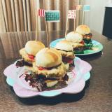 今日の晩ご飯は手作りミニハンバーガーの画像(5枚目)