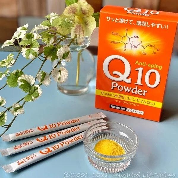 口コミ投稿:*サッととけて吸収しやすい『Q10パウダー』を始めました♪ この『Q10パウダー』はと…
