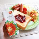 .@kikkoman_delmonte.デルモンテのHACO SALAD ハコサラダを飲んでいます💗.デルモンテHACO SALAD ハコサラダはグレープフルーツのみずみずしいおい…のInstagram画像