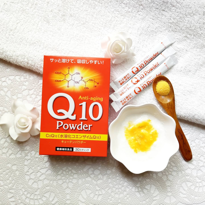 口コミ投稿:『Q10パウダー』✨💕中垣技術士事務所さんのQ10パウダーは、美容にうれしい「コエンザ…