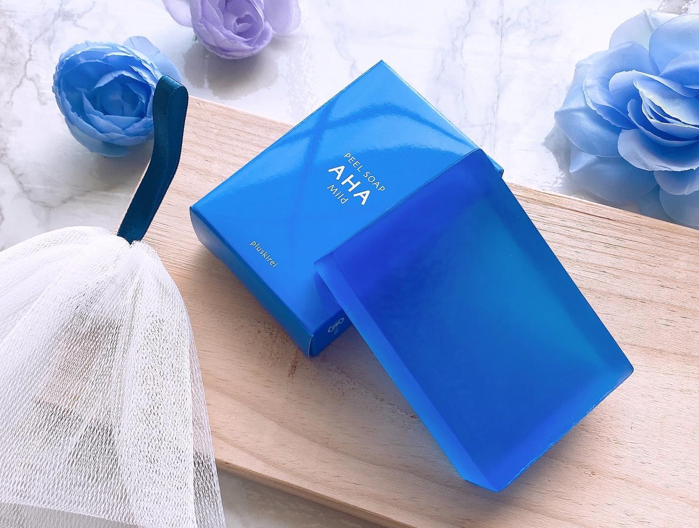 口コミ投稿:ピーリング石鹸♡୨୧┈┈┈┈┈┈┈┈┈┈┈┈୨୧ プラスキレイ ピールソープ     AHA  青…