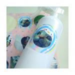 以前紹介したアプリ、【みんなのシール】で作ったシール₍˄·͈༝·͈˄₎除菌スプレーのボトルとか、(みんなのシールは防水👍)普段使ってる鏡とかが、真っ白だから貼ってみた( ᐢ…のInstagram画像