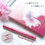 アイライナーが苦手な方に使ってみて欲しい!!#LUMIURGLAS#SkilllessLiner #RougeBurgundy¥1,650円(税込)…のInstagram画像