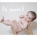 ハーフバースデー🎉今日で6ヶ月になりました🥳離乳食もいっぱい食べるようになってきたし、いろんなものに興味を持つようになってきたね🤩👏🏼寝返りはまだ左回りしかしないのと、寝…のInstagram画像