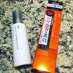 薬用メディショットエッセンスセラムをお試しさせていただいております。美白とシワ改善にダブルで効くのは嬉しいです♪プッシュ式で使いやすく衛生的、香りもgood!#明色化粧品 #薬用メディ…のInstagram画像