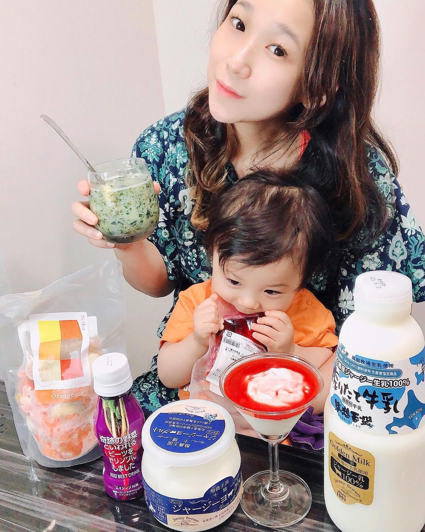 口コミ投稿:Fun diet🍒🍅🍓🥕🍎✨My son is satisfied with delicious dairy products🐮🥛(≧∀≦)Healthy a…